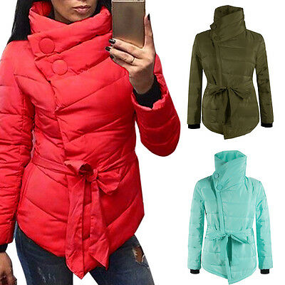 2017 Winter Women's Down Jacket Long Coat Hooded Collar Warm Outerwear Overcoat