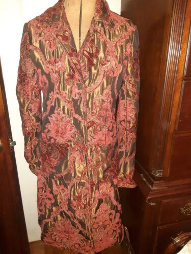 Cherella Tapestry style coat size M