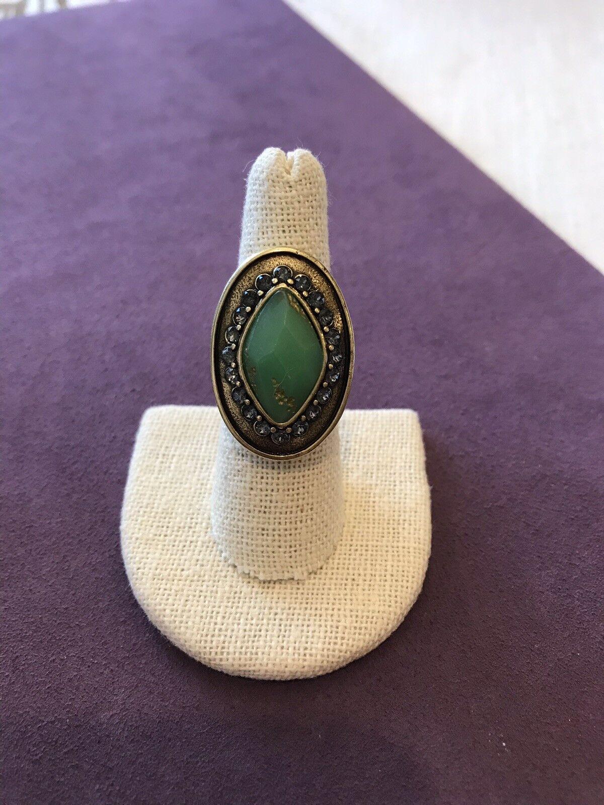 KRR0072 Silpada Designs Botanical Ring Size 7