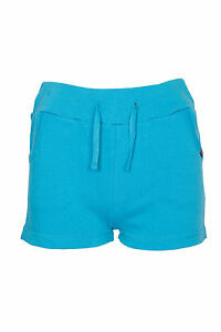 Filles-Enfants-decontracte-ete-short-vacances-Pull-over-Cravate-Shorty-7-13-ans