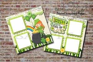 Irish-Lass-Sass-St-Patrick-Day-2-PRINTED-Premade-Scrapbook-Pages-BLJgraves-24