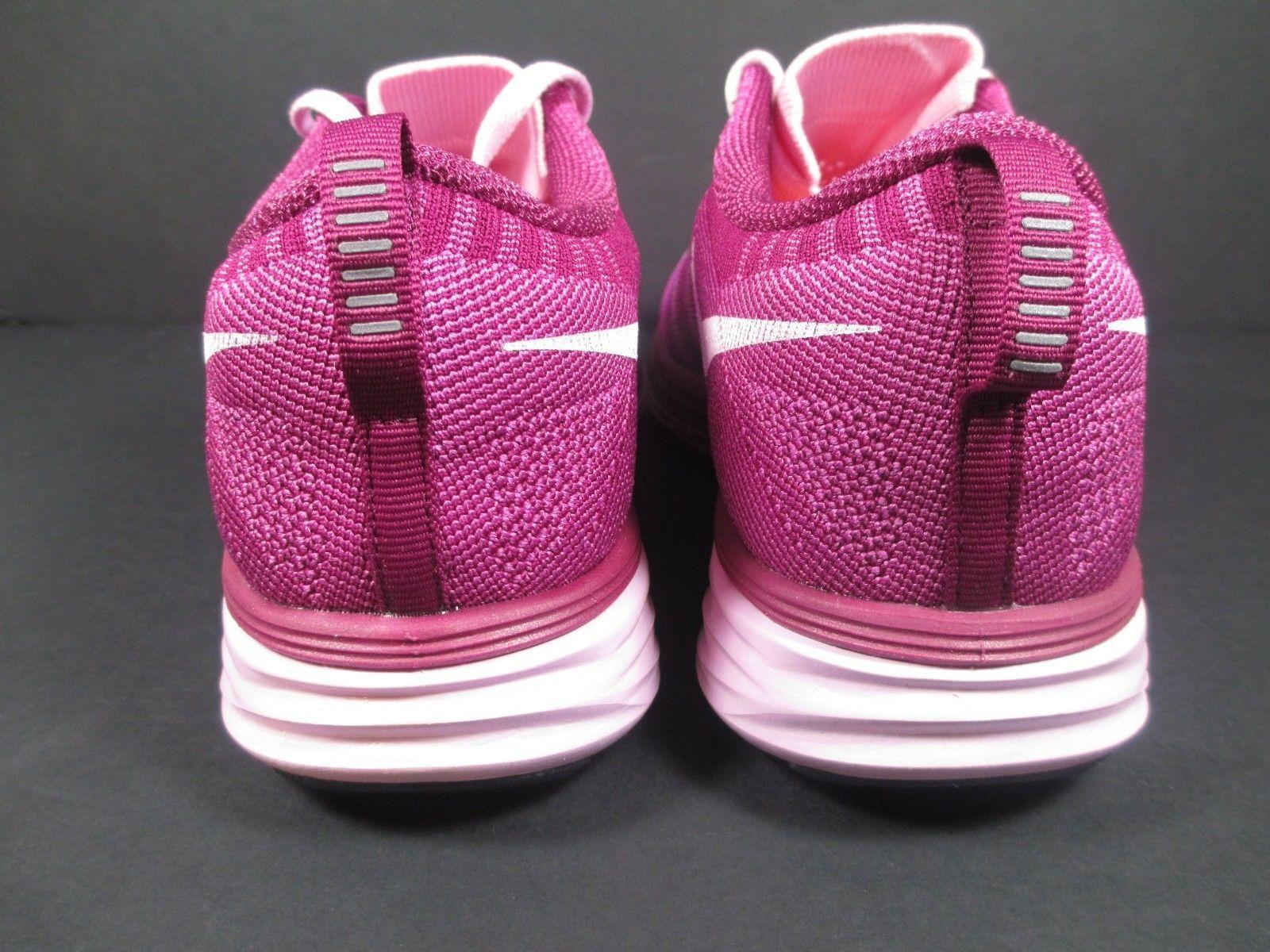 100% authentic 7e259 a8914 ... NIB Nike Flyknit Lunar Running Shoe 620658-615 Artic Pink Wht-Rspb  WOMENS Sz ...