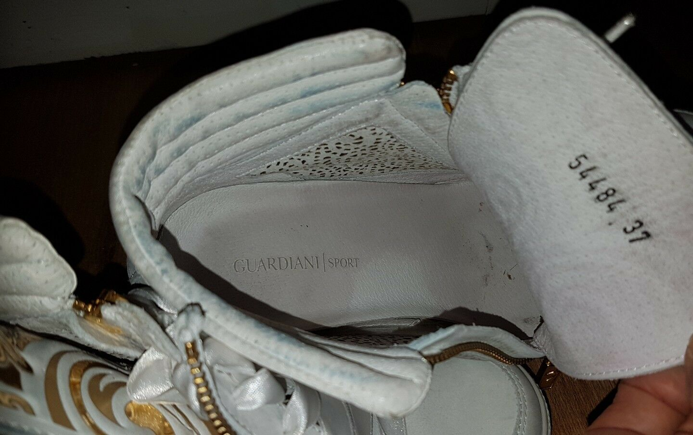 Alberto guardiani Damenschuhe  Größe37 Weiß High-tops & Sneakers Größe37   Uk4 479b75