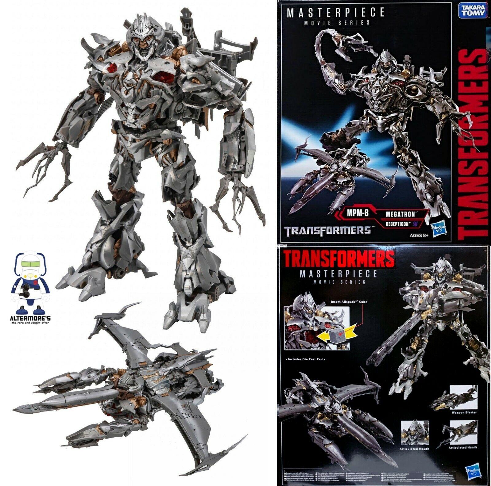 a precios asequibles Transformers Transformers Transformers Hasbro Takara Movie Masterpiece MPM-08 Megatron sin usar y en caja sellada  gran descuento