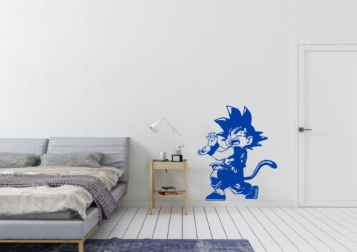 Kid Goku Inspired Design Anime Dragon Ball Wall Art Decal Vinyl Sticker