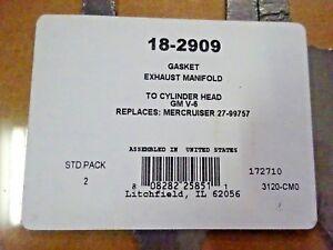 Volvo Penta 1378646-2 Marine Boat 4 Cylinder Head Gasket Sierra 18-2970