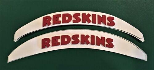 REDSKINS 3D BUMPERS HELMET DECALS RIDDELL SCHUTT WASHINGTON FOOTBALL 3-D LARGE