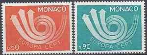 FRANCIA-MoNACO-N-917-N-918-NUEVO-CON-GOMA-ORIGINAL-CARA
