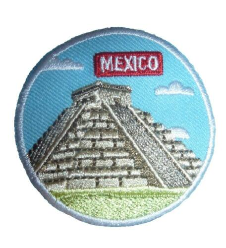 Girl MEXICO Country Patches Crest Badges SCOUT GUIDE International Thinking Day