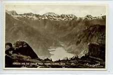 (Lp343-329)  Coruisk and The Cuillin from Sgurr-Na-Stri, Skye  c1920, Unused,