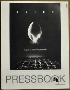 ALIEN-1979-ORIGINAL-9X11-NEAR-MINT-PRESSBOOK-SIGOURNEY-WEAVER-JOHN-HURT