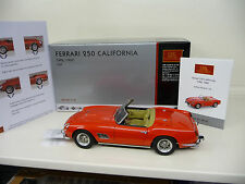 1:18 FERRARI 250 CALIFORNIA SWB 1960 rot red CMC M-091 NEU NEW