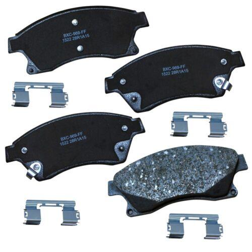 Disc Brake Pad Set-Stop Ceramic Brake Pad Front Bendix SBC1522