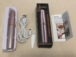 Reazeal Eyebrow Hair Remover Painless-Precision- LED Light - Rechargeable