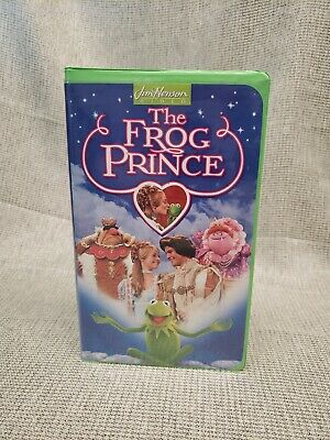 The Frog Prince Movie Vhs Clamshell 1994 Jim Henson ... The Muppet Movie Vhs 1994