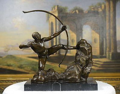 Goldscheider French Art Deco Bronze Sculpture of a Nude