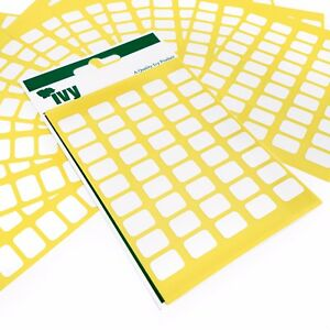 1-350-Self-Adhesive-Sticky-White-Labels-Stickers-9-x-13mm-Ivy-Stationery