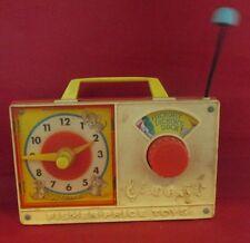 Fisher Price Musical Clock Radio Hickory Dickory Dock