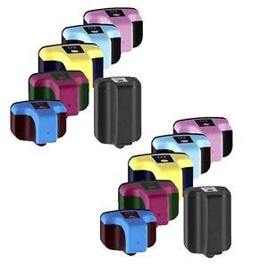 12-COMPATIBLES-363-XL-NON-OEM-Photosmart-C6150-C6154-C6170-C6175-CYAN-YELLOW