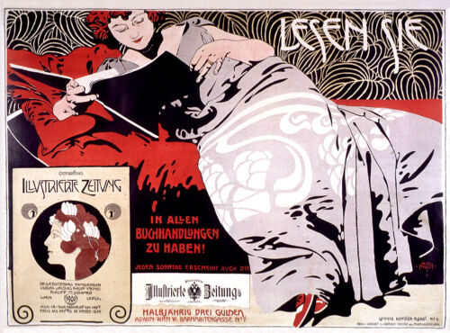 Vintage French Art Nouveau Shabby Chic Prints & Posters 091 A1,A2,A3,A4 Sizes