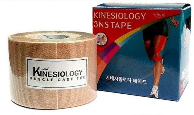 3NS Premium Kinesiology Tape Sports Muscle Care Tex 9 Colors Made in Korea Gift