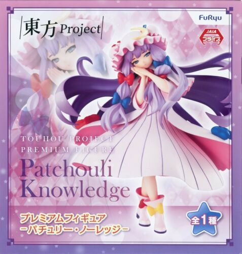 Patchouli Knowledge Touhou Project Figure Furyu Anime Statue Statue USA Seller