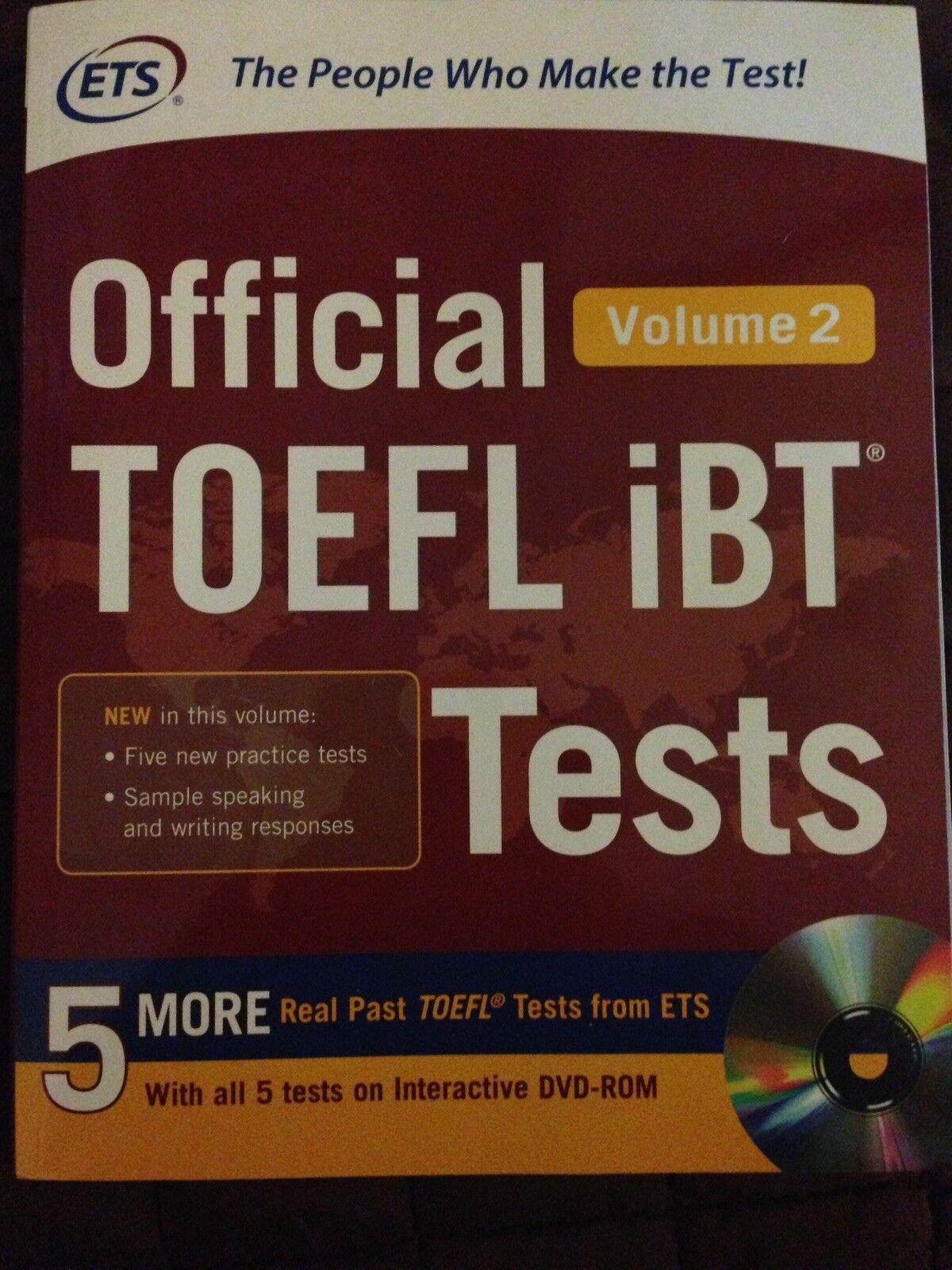 Toefl ibt book ets