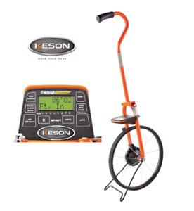 Keson-MP401e-Steel-Digital-Measuring-Wheel-8-memory-Ft-Inch-Metric-w-Carry-Bag