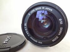 Sigma DL 100-300mm f/4.5-6.7 DL AF Lens Minolta/Sony From Japan Exc Cond 426L