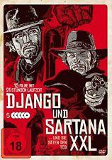 15 Italo Western DJANGO und & SANTANA SCATOLA XXL cruento Piombo HALUNKEN DVD