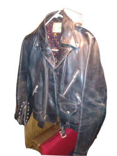 Grace 1940s Horse Leather Cafe Racer Jacket Very V