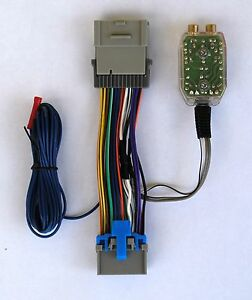 amp wire harness factory radio add amplifier subwoofer interface wire ... #11