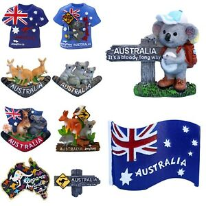 Australian-Souvenir-3D-Fridge-Magnet-Flag-Koala-Australia-Kangaroo-Gift