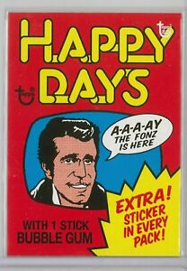 2018-Topps-80th-Anniversary-Wrapper-Art-Card-HAPPY-DAYS-CARD-28-FROM-SET-10-LE