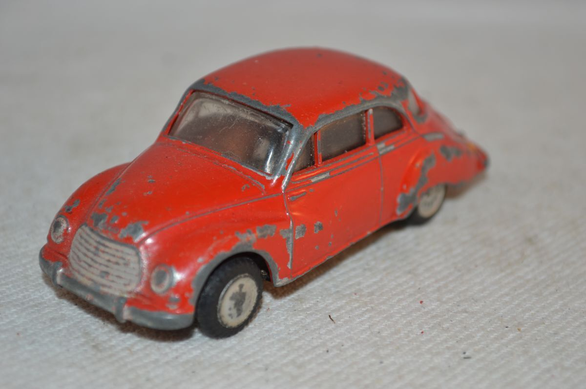 Lion auto  DKW rosso in good plus original condition fatto in Holle 2e type