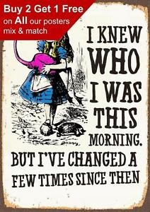 Alice-In-Wonderland-I-Have-Changed-Vintage-Classic-Poster-Print