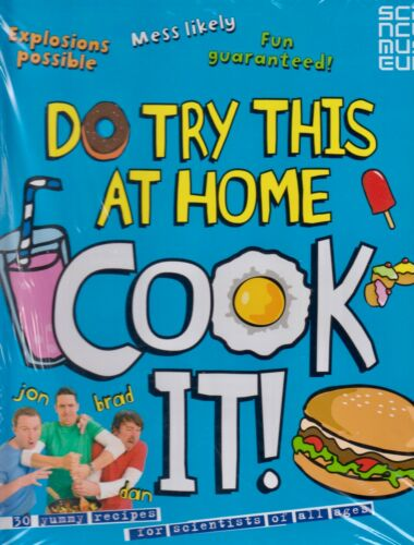 1 of 1 - Do Try This at Home Cook It! by Punk Science BRAND NEW BOOK (Paperback, 2013)