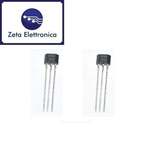 N.2 Sensore Magnetico circuito integrato A3144 44E A1104 Effetto Hall Arduino