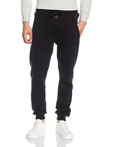 Raw Indigo Ltd ETO Men/'s Tracksuit Bottoms in black uk sz x large new