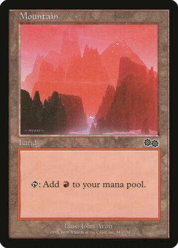 Urza/'s Saga NM Basic Land MAGIC THE GATHERING MTG CARD ABUGames 343 Mountain