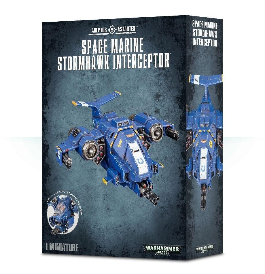Warhammer 40K Space Marine Stormhawk Interceptor (48-42)
