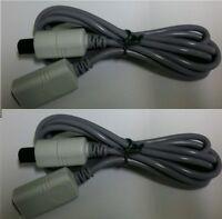 9 Lot 6ft Controller Extension Cables 3 N64 2 Gamecube & 4 Sega Dreamcast