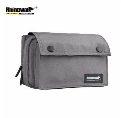 1*Bike Handlebar Bag Front Frame Bag Storage Shoulder Handbag Travelling Pannier