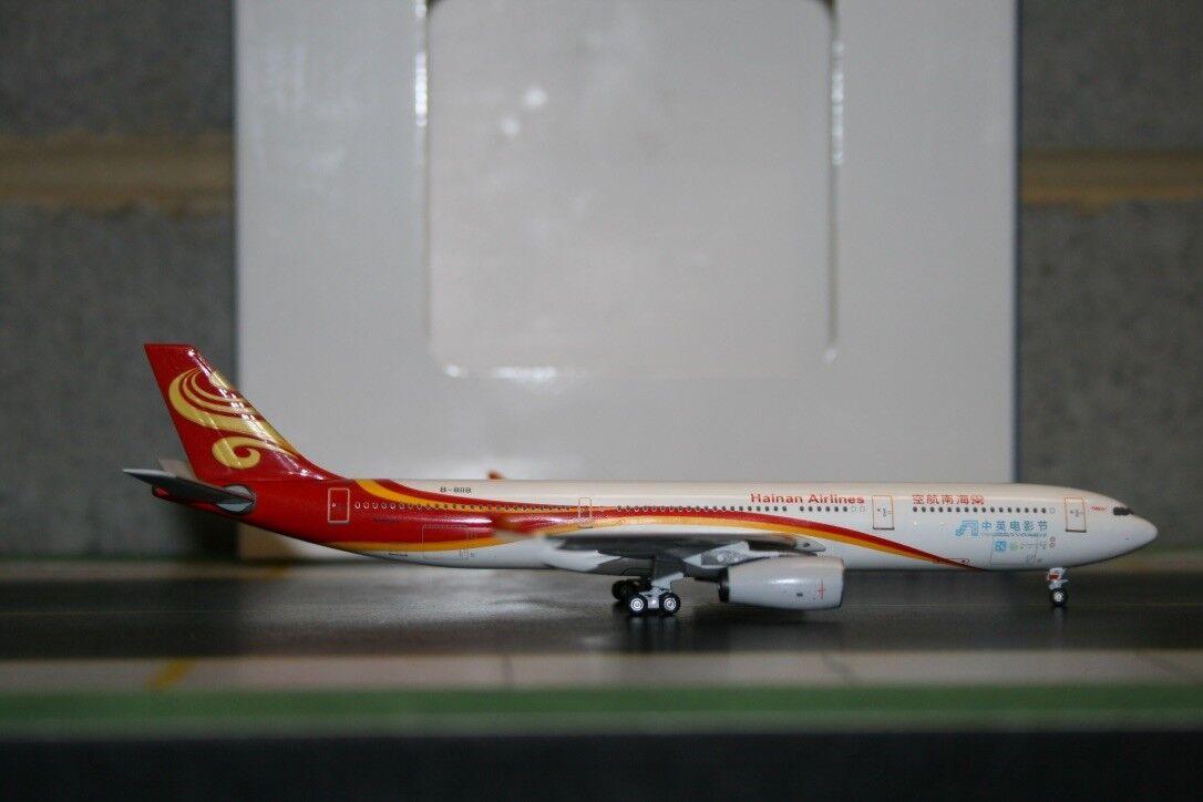 Aeroklassics 1 400 Hainan Airlines flygbusss A30 -300 B -818 ACB818 Filmfestival