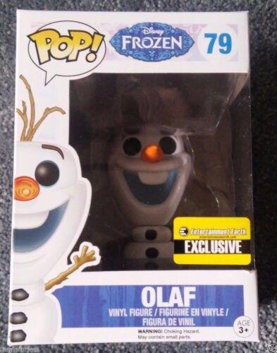 Disney Frozen Olaf POP Exclusive Glitter Snowman Funko NEW