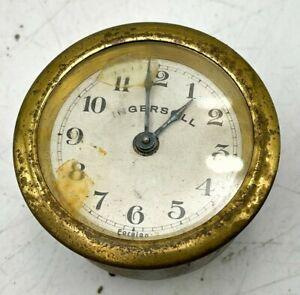 Vintage INGERSOLL Wind Up Mechanical Clock Movement Part (Repairs)