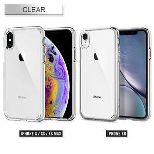 Original Spigen Protective Cover iPhone XS Max Ultra Hybrid Case Transparent