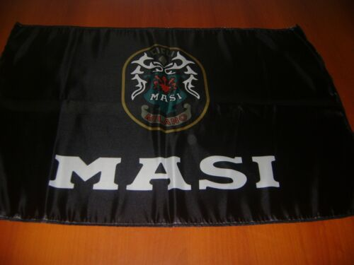MASI Logo 20x30 Flag Banner Show Garage Racing Shop Deco Man Cave Italia 3V Flag