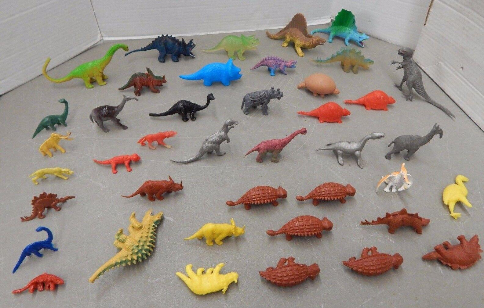 MPC Nabisco Plástico Dinosaurio Lote (MPC y otras figuras Misc)