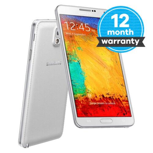 1 of 1 - Samsung Galaxy Note 3 III SM-N9005 - 16GB - White (Unlocked) Good Condition